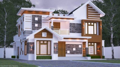 Photo of 2690 Square Feet 4 Bedroom Contemporary Style Two Floor House