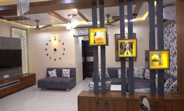 3BHK Luxurious Flat Beautiful Interiors