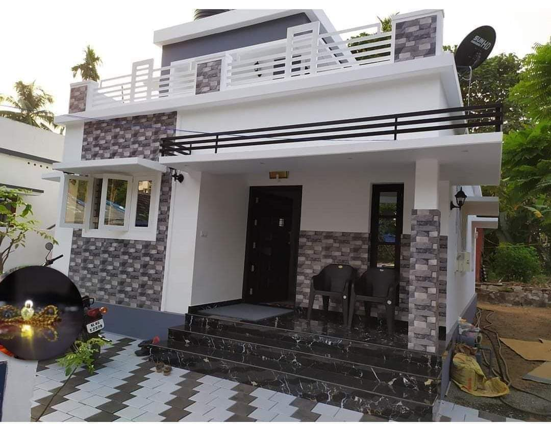 650 Sq Ft 2 Bedroom Single Floor Beautiful House and Plan ...