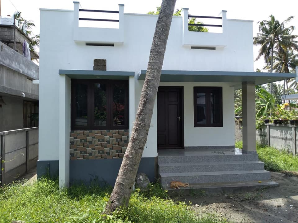 650 Square Feet 2 Bedroom Single Floor Low Budget Cute House and Plan, Cost 9 Lacks