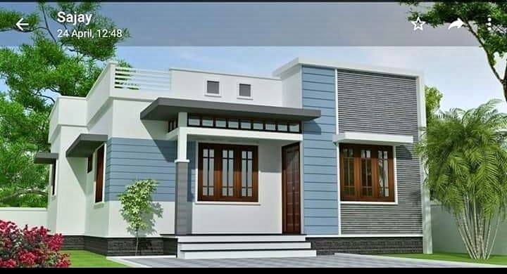 700 Sq Ft 2 Bedroom Single Floor Beautiful House and Plan, 10.50 Lacks