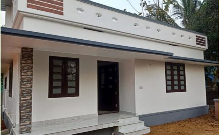 700 Square Feet 2 Bedroom Single Floor Low Budget House and Plan