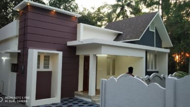Photo of 715 Square Feet 2BHK Modern and Beautiful House and Plan