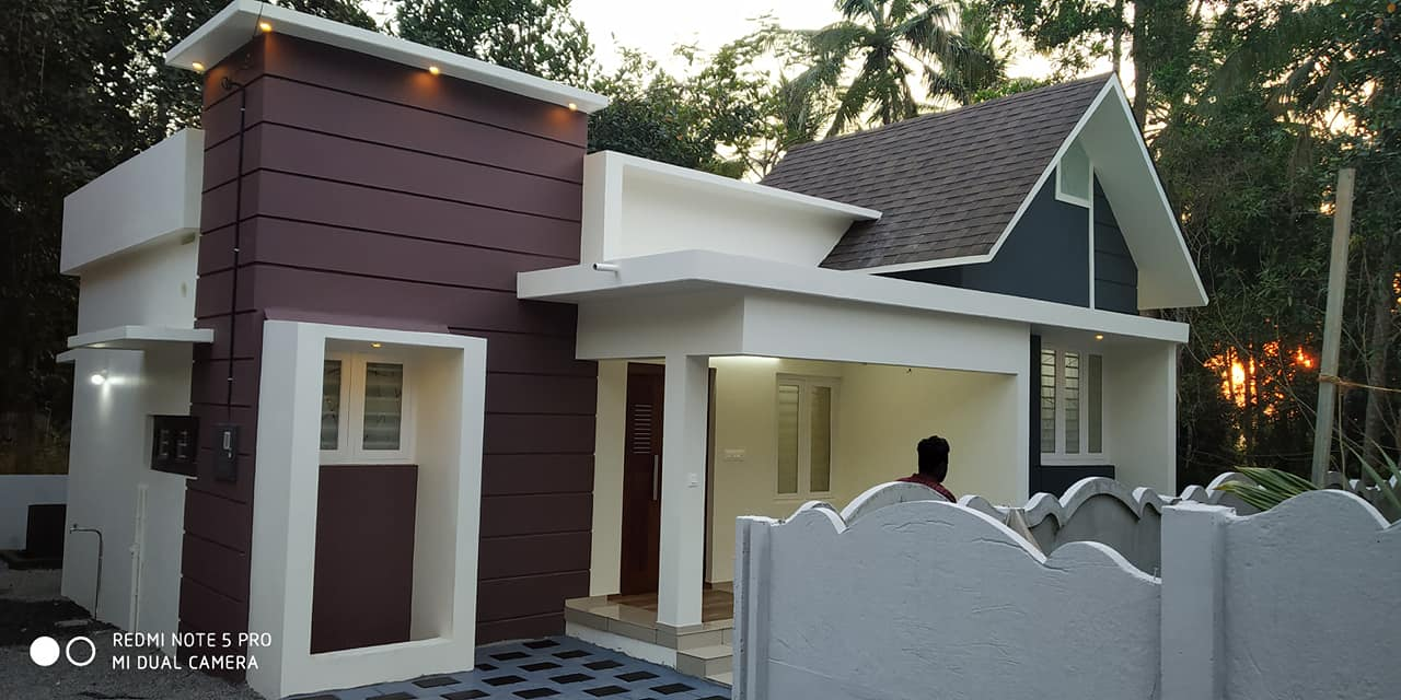 715 Square Feet 2BHK Modern and Beautiful House and Plan