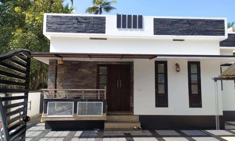 750 Sq Ft 2bhk Simple And Cute Single Floor Low Budget House And Plan Home Pictures