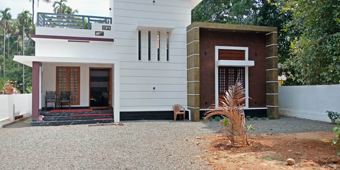 750 Square Feet 2 Bedroom Beautiful Single Door House and Plan