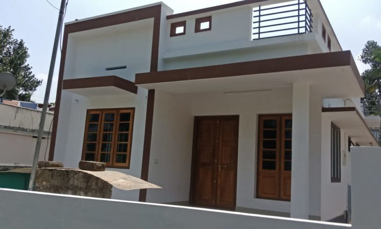 882 Sq Ft 3 Bedroom Single Floor Low Budget House and Plan, 13 Lacks