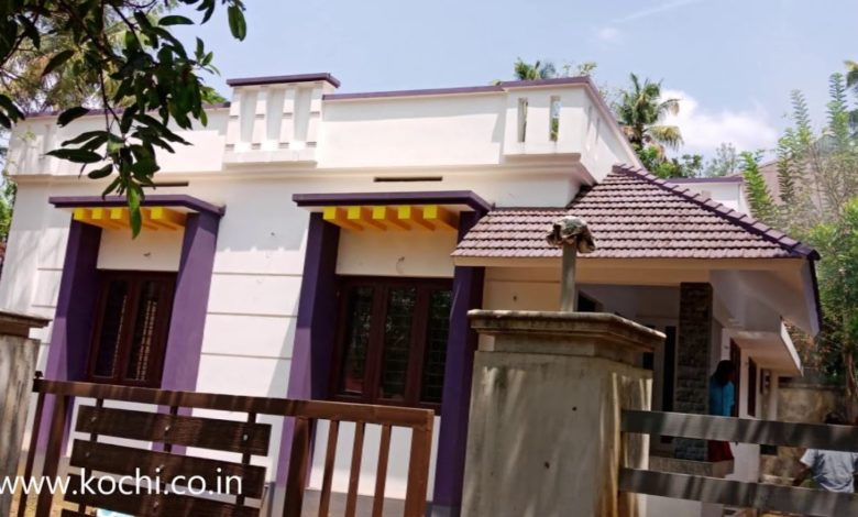 900 Sq Ft 2BHK Single Floor Low Budget House at 4 Cent Plot