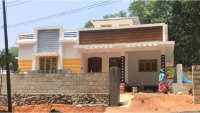 Photo of 960 Square Feet 2BHK Single Floor Beautiful House and Plan, Cost 14.50 Lacks