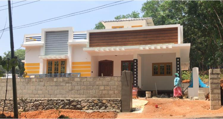 960 Square Feet 2BHK Single Floor Beautiful House and Plan, Cost 14.50 Lacks