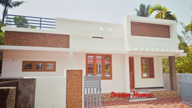Photo of 988 Sq Ft 3BHK Single Floor Modern and Beautiful House and Plan