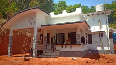 Photo of 996 Sq Ft 3BHK Low Budget Single Floor House and Plan, Cost 13 Lacks