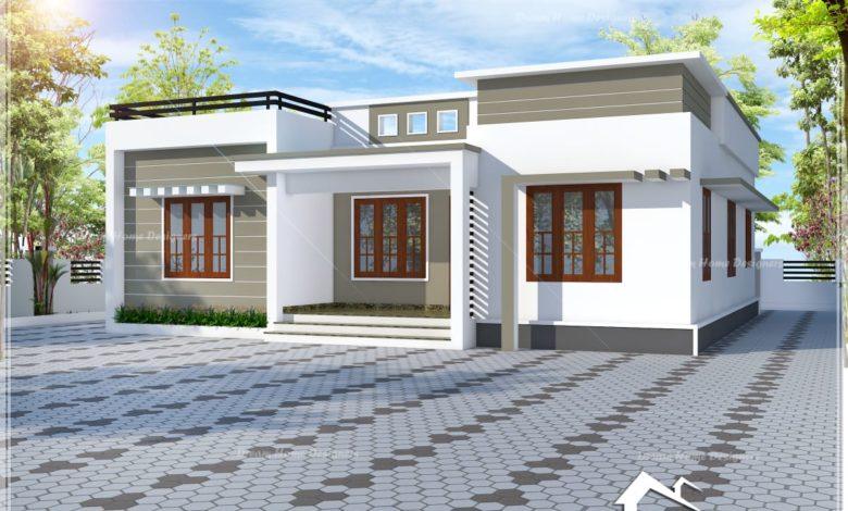 1026 Sq Ft 3 Bath Attached Bedroom Beautiful House and Plan, 15.40 Lacks