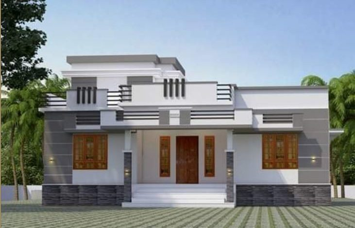 1026 Sq Ft 3BHK Single Storey Beautiful House and Plan, 15 Lacks