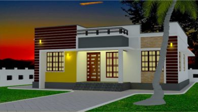 Photo of 1110 Sq Ft 3BHK Low Budget Single Storey House and Plan, 17.50 Lacks