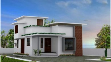 Photo of 1152 Sq Ft 2BHK Single Floor Modern House and Plan