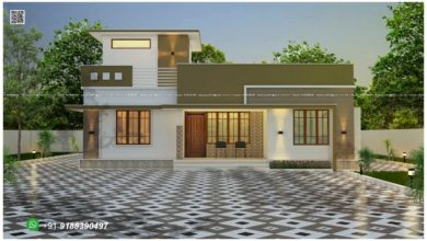 Photo of 1231 Sq Ft 3BHK Modern Single-Storey House and Plan