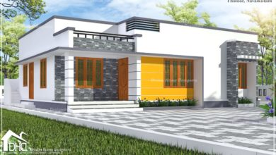 Photo of 1241 Sq Ft 3BHK Single Floor Low Budget Beautiful House and Plan, 18.50 Lacks