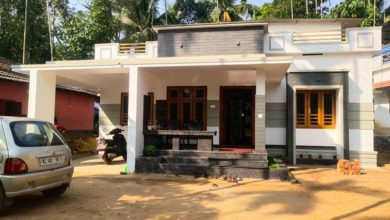 Photo of 1262 Sq Ft 3BHK Single Floor Modern House and Plan, Cost 18 Lacks