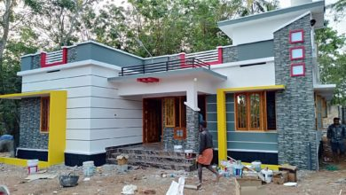 Photo of 1286 Sq Ft 3BHK Single Floor Low Budget Beautiful House and Plan, Cost 18 Lacks