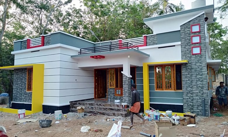 1286 Sq Ft 3BHK Single Floor Low Budget Beautiful House and Plan, Cost 18 Lacks
