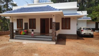 Photo of 1375 Sq Ft 2BHK Traditional Style Single-Storey House and Plan