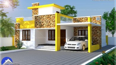 Photo of 1460 Sq Ft 3BHK Single Floor Modern House and Plan, Cost 22 Lacks