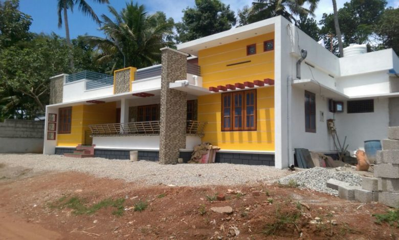 1510 Sq Ft 4BHK Single Floor Modern Beautiful House and Plan, Cost 21 Lacks