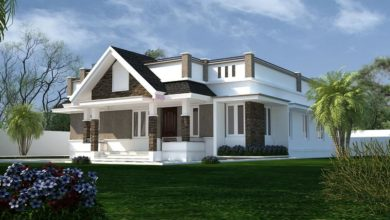 Photo of 1557 Sq Ft 3BHK Traditional Style Single Floor Beautiful House and Plan