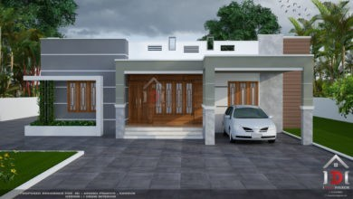 Photo of 1850 Sq Ft 4BHK Single Floor Modern House and Plan, 24 Lacks