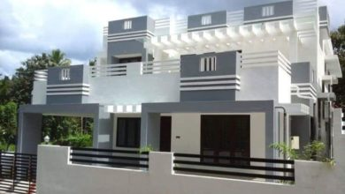 Photo of 2000 Sq Ft 4BHK Contemporary Style Two-Storey House and Plan