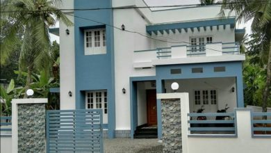 Photo of 2100 Sq Ft 4BHK Modern Two Storey House and Plan