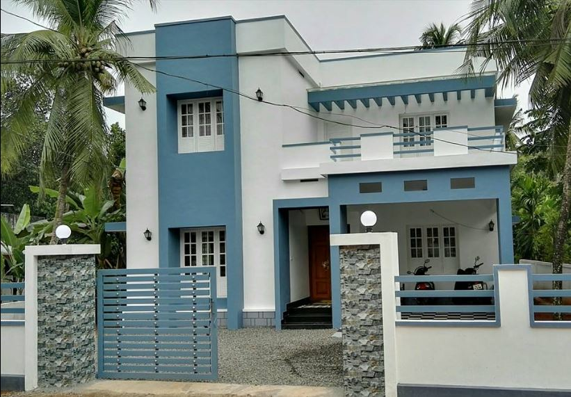 2100 Sq Ft 4BHK Modern Two Storey House and Plan