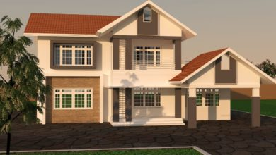 Photo of 2438 Sq Ft 3BHK Traditional Style Two Floor Beautiful House and Plan