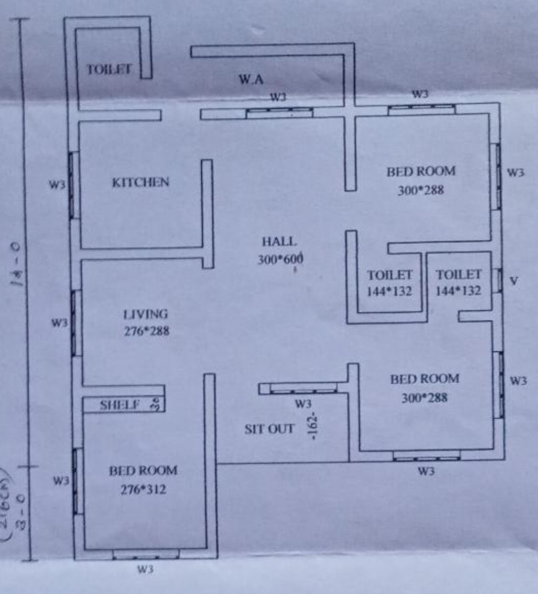 3 Bedroom Single Floor Beautiful Low Budget House and Plan