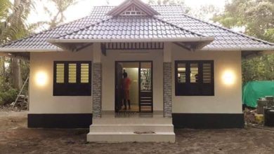 Photo of 600 Sq Ft 2BHK Traditional Style House and Plan at 3 Cent Plot, Cost 10 Lacks