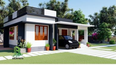 Photo of 708 Sq Ft 2BHK Single-Storey Beautiful Modern House at 6 Cent Plot