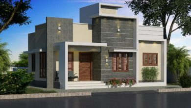 Photo of 750 Sq Ft 2BHK Single Floor Contemporary Style House and Plan