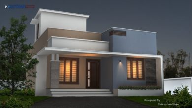 Photo of 850 Sq Ft 2BHK Contemporary Style Modern Beautiful House Design, 12-15 Lacks