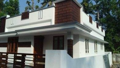 Photo of 882 Sq Ft 3BHK Single Floor Low Budget Beautiful House and Plan, 13 Lacks