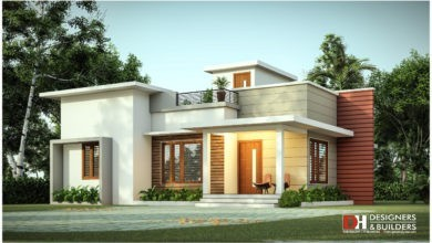 Photo of 974 Sq Ft 2BHK Simple Single-Storey Beautiful House and Plan