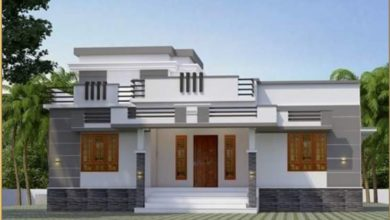 Photo of 1084 Sq Ft 3BHK Modern and Single Floor House and Free Plan, 17 Lacks