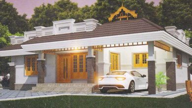 Photo of 1089 Sq Ft 2BHK Traditional Style Single-Storey House and Free Plan