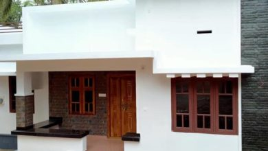 Photo of 1100 Sq Ft 3BHK Single Storey Beautiful House and Plan