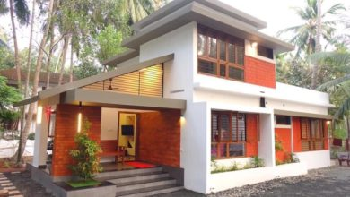Photo of 1150 Sq Ft 3BHK Contemporary Style House and Free Plan, 20 Lacks