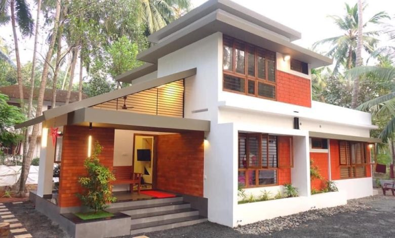1150 Sq Ft 3BHK Contemporary Style House and Free Plan, 20 Lacks
