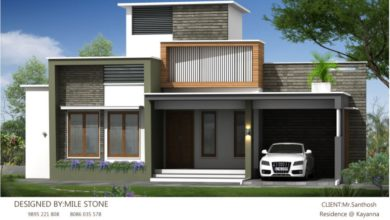 Photo of 1167 Sq Ft 2BHK Fusion Style Single-Storey House and Plan, 17 Lacks