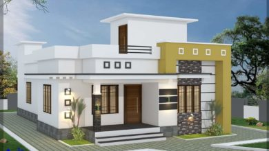 Photo of 1200 Sq Ft 3BHK Single-Storey Modern and Beautiful House and Plan
