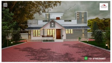 Photo of 1230 Sq Ft 3BHK Single-Storey Beautiful Modern House and Free Plan