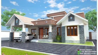 Photo of 1365 Sq Ft 3BHK Modern and Beautiful House at 6 Cent Plot, Free Plan